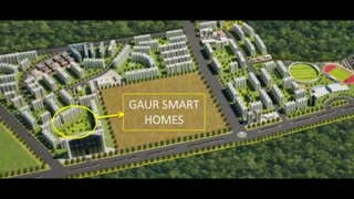 Gaur Smart Homes Studio Flats Greater Noida West - Video