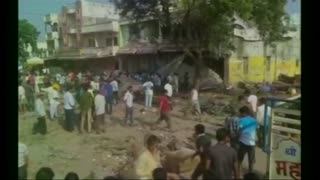 At least 44 dead after blast in central India - Video