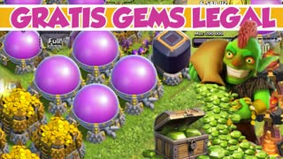 Gratis GEMS Juwelen für Clash of Clans Deutsch, HD Tutorial!! - Video