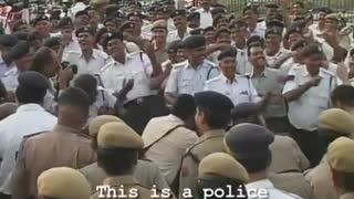 Bizarre Police Laughter Camp - Video