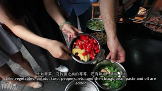 Must Try Sichuan Food | Chinese Firewood Chicken - Video