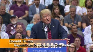 Trumps wows Texas campaign rally - Video