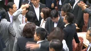 Japan upper house panel approves defence bills - Video