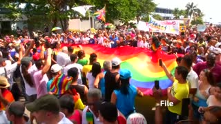 Cuba's LGBTQ hope Francis visit helps fight Catholic homophobia - Video