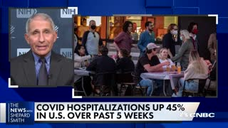 The Covid numbers are stunning, and it's going to get worse: Dr. Anthony Fauci