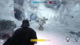 Star Wars Battlefront: The Dark Side training mission