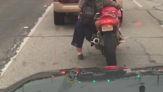 Midget On A Motorcycle! - Video