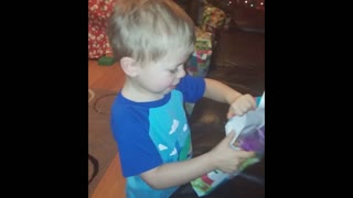 Kid Wants Cough Drops For Christmas - Video