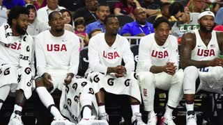 Kevin Durant Flips Off Draymond Green, Team USA Mocks Green's Dick Pic - Video