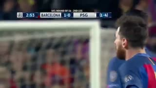 Luis Suarez Goal vs PSG - Video