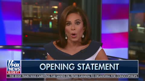 Judge Jeanine Notes That All The Hatred Is Being Driven By The Democrats