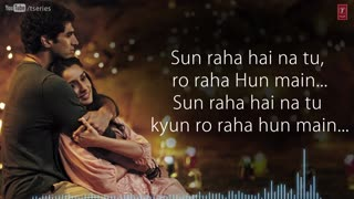 sunn  raha hai na tu video song - Video