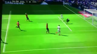Cristiano Ronaldo goal vs Osasuna - Video