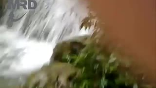 WATERFALL SHOWER!  Amazing Waterfall showers in Vietnam - Video