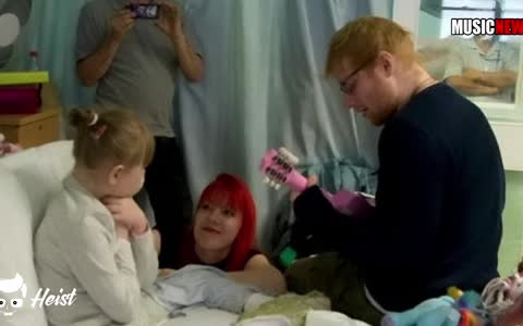 Try not to weep while watching Ed Sheeran serenade a young, sick fan