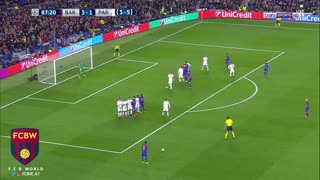 El golazo de falta de Neymar vs PSG - Video
