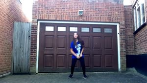 14-year-old girl displays amazing dance moves - Video