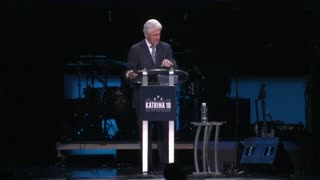 Bill Clinton tells New Orleans to celebrate but keep working - Video