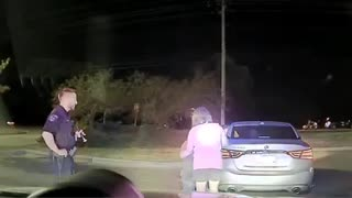 Surprise Marriage Proposal Occurs During Traffic Stop
