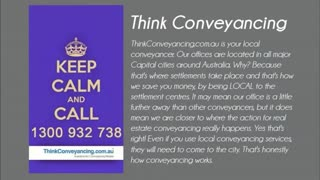 Think Conveyancing - Video