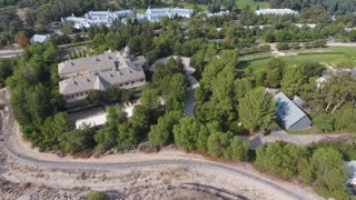 """Drone footage shows Church of Scientology's secretive """"Gold Base"""" HQ"""