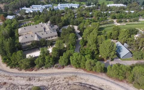 Drone footage shows Church of Scientology's secretive
