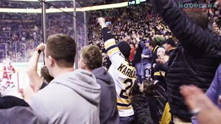 A Father, A Son, And A Hockey Fan's Dream Come True! - Video