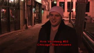Interview with Chicago Blackhawks Player Kris Versteeg - Video