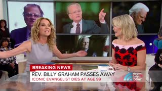 Kathie Lee Remembers Her Friend and Pastor Billy Graham - Video