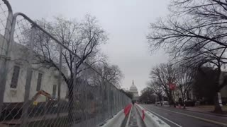 Is there a massive construction project ongoing at the US Capitol