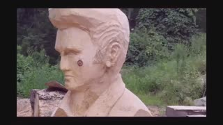 My Elvis Presley Tribute Sculpture - Video