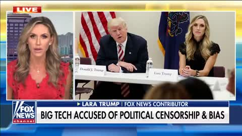 Lara Trump: What Happened To Donald Trump Can Happen To You
