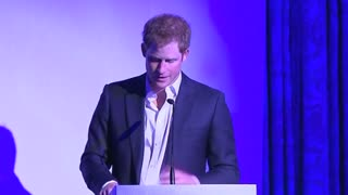 Prince Harry Attends African Charity Event - Video