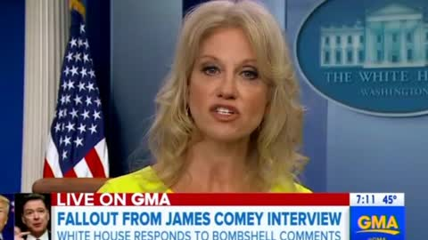 Kellyanne Conway Blasts Comey's 'Free Political Commercial' on ABC