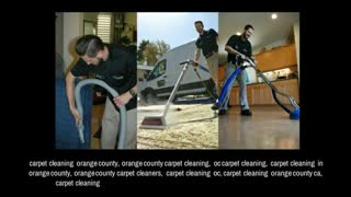 orange county carpet cleaning - Video