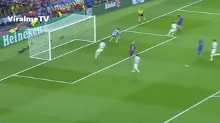 Lionel Messi Goal Hattrick ! Barcelona vs Celtic 5-0