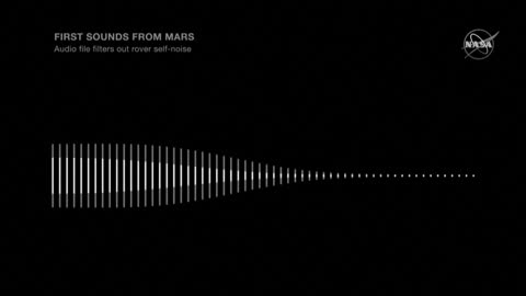 NASA releases first audio from Mars