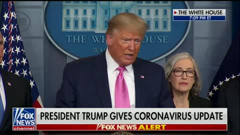 Trump slams Pelosi over coronavirus criticism