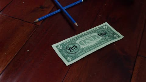 Jaw-dropping magic trick performed with dollar bill