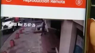 Grave accidente con cables en Bucaramanga - Video