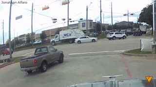 Spring, TX red light runner nearly caused a wreck