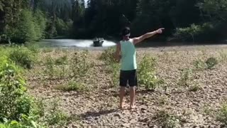 Boating Across Land - Video