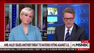 'Morning Joe' Goes Off On Nikki Haley With an Ugly Accusation - Video