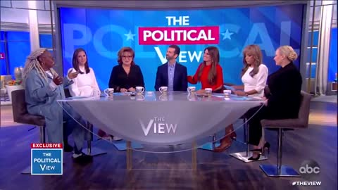 """""""The View"""" ep with Trump Jr. starts off with fireworks"""