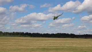 Helicopter Freestyle at Borovaya Airfield - Video