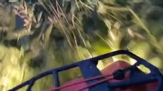Driving an ATV Through the Countryside Can Result In Unforeseen Crashing