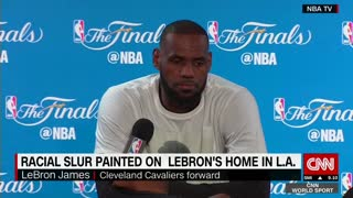 LeBron James complains - Video