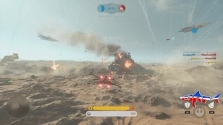 Star Wars Battlefront: Fighter Squadron Gameplay