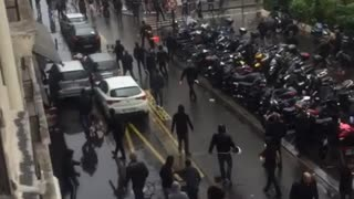 Two Synagogues attacked in Paris after anti-Israel protests - Video
