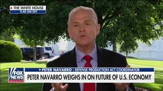 Peter Navarro says US is not facing the Great Depression